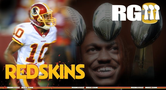 Robert Griffin III Redskins