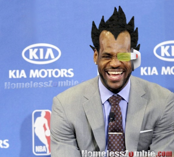 Saiyan LeBron James
